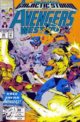 West Coast Avengers Vol. 2 (Comic-book. 1985 -1989) #80