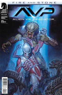 Alien vs. Predator: Fire and Stone (Comic Book) #4