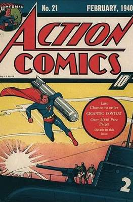 Action Comics Vol. 1 (1938-2011; 2016-) (Comic Book) #21