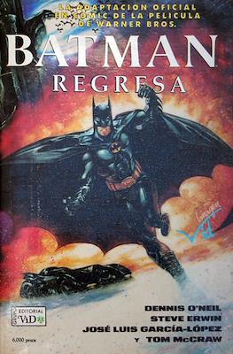 Batman Regresa. Adaptación Oficial al Cómic de la Película de Warner Bros