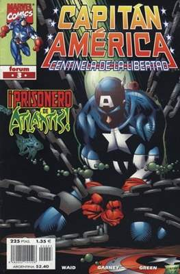Capitán América: Centinela de la libertad (1999-2000) (Grapa.) #3