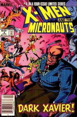 X-Men and the Micronauts (Comic Book) #4