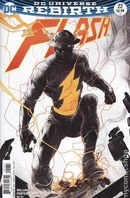 The Flash Vol. 5 (2016- Variant Covers) (Comic Book) #22