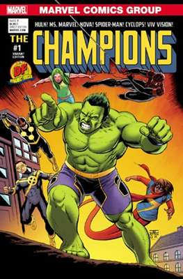 Champions Vol. 2 (2016) Variant Covers (Comic Book) #1.5