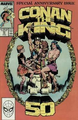 King Conan/Conan the King (1980-1989) (Grapa, 48 págs.) #50
