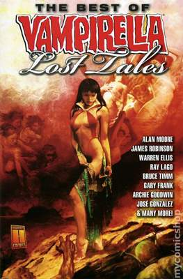 The Best of Vampirella Lost Tales