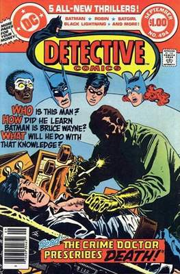 Detective Comics Vol. 1 (1937-2011; 2016-) (Comic Book) #494