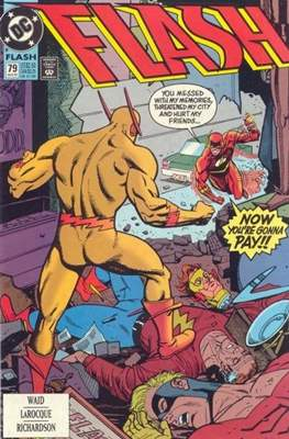 The Flash Vol. 2 (1987-2006) (Comic Book) #79