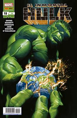 El Increíble Hulk Vol. 2 / Indestructible Hulk / El Alucinante Hulk / El Inmortal Hulk (2012-) (Comic Book) #90/15