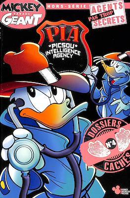 Mickey Parade Géant Hors Série - PIA (Picsou Intelligence Agency) Agents pas Trop Secrets (Broché) #4