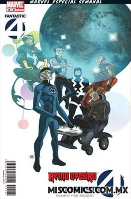 Reinado Oscuro: Fantastic Four (Grapa) #3
