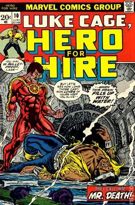 Hero for Hire / Power Man Vol 1 / Power Man and Iron Fist Vol 1 #10