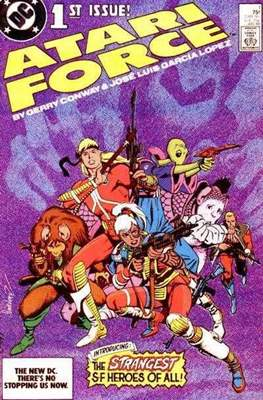 Atari Force (Grapa) #1