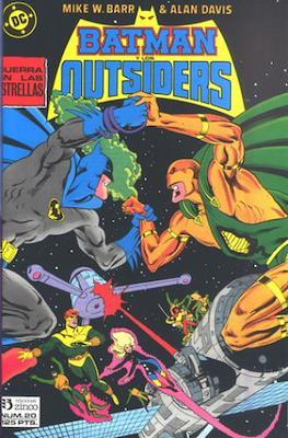 Batman y los Outsiders / Los Outsiders (1986-1988) (Grapa, 34 páginas) #20
