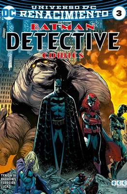 Batman: Detective Comics (Binder, páginas a color. 24x17cm.) #3