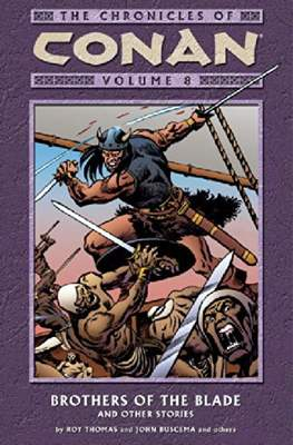 The Chronicles of Conan the Barbarian (Paperback) #8