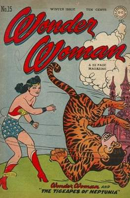 Wonder Woman Vol. 1 (1942-1986; 2020-) #15