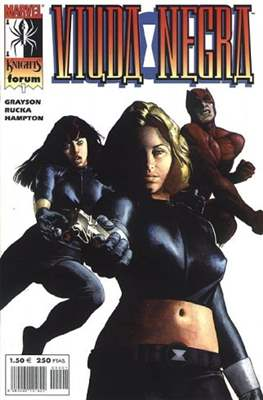 Viuda Negra Vol. 2 (2001-2002). Marvel Knights (Grapa 24 pp) #1
