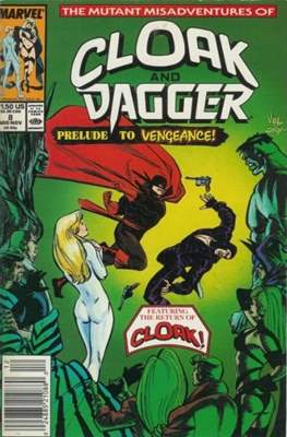 Cloak and Dagger Vol. 3 (1988-1991) (Comic-book.) #8