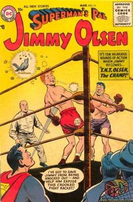 Superman's Pal, Jimmy Olsen / The Superman Family (Comic Book) #11