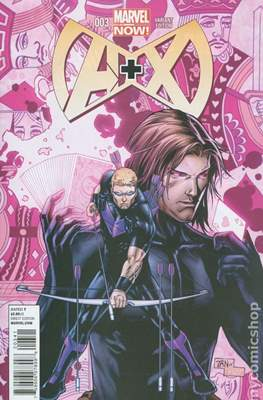 A+X (Variant Covers) (Comic Book) #3.2