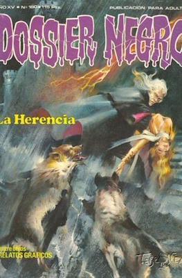 Dossier Negro (Rústica y grapa [1968 - 1988]) #180