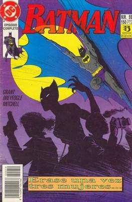 Batman (1987-1993) (Grapa) #59