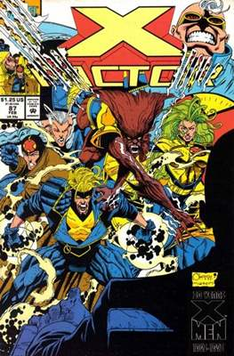 X-Factor Vol. 1 (1986-1998) (Comic Book) #87