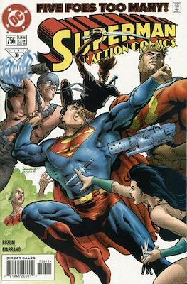 Action Comics Vol. 1 (1938-2011; 2016-) (Comic Book) #756
