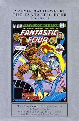 Marvel Masterworks: The Fantastic Four (Hardcover) #19