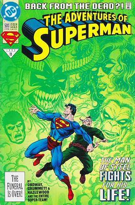 Superman Vol. 1 / Adventures of Superman Vol. 1 (1939-2011) (Comic Book) #500