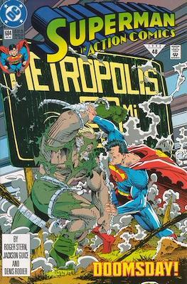 Action Comics Vol. 1 (1938-2011; 2016-) (Comic Book) #684