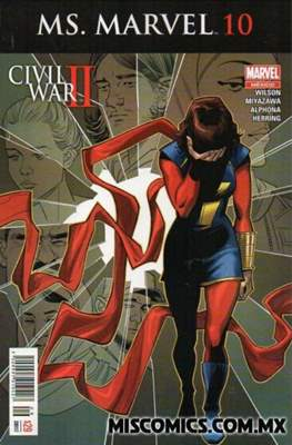 Ms. Marvel (2016-2017) #10