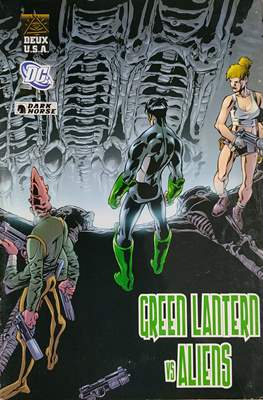 Green Lantern vs Aliens