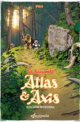 La Saga de Atlas & Axis - Edición Integral (Cartoné 272 pp) #