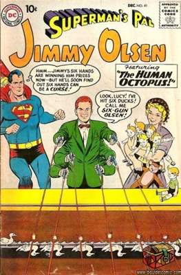 Superman's Pal, Jimmy Olsen / The Superman Family (Comic Book) #41