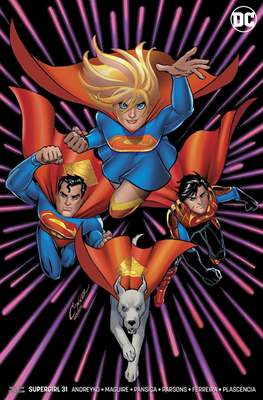 Supergirl Vol. 7 (2016-... Variant Cover) (Comic Book) #31