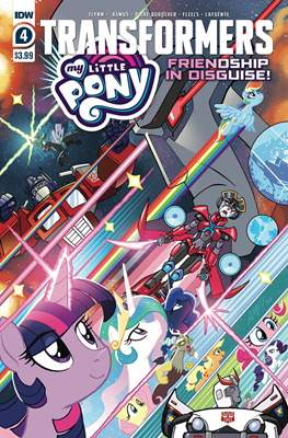 Transformers & My Little Pony: Friendship in Disguise #4