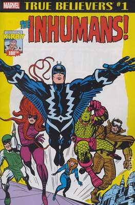 True Believers Kirby 100th The Inhumans