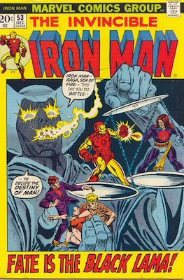 Iron Man Vol. 1 (1968-1996) (Comic book) #53
