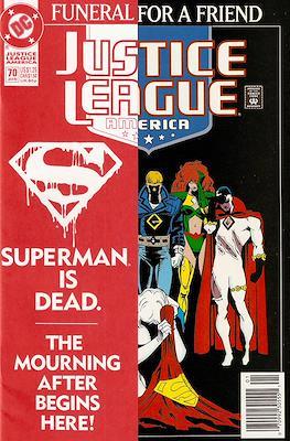 Justice League / Justice League International / Justice League America (1987-1996) (Comic-Book) #70