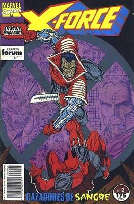 X-Force Vol. 1 (1992-1995) (Grapa 24-32 pp) #2