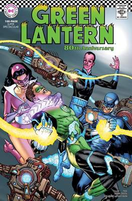 Green Lantern 80th Anniversary 100-Page Super Spectacular #1 (Variant Cover) (Softcover 100 pp) #1.2