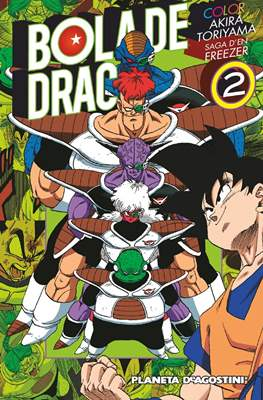 Bola de Drac Color: Saga d'en Freezer #2