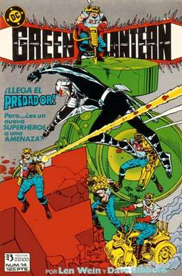 Green Lantern (1986-1987) (Grapa, 36-52 páginas) #14