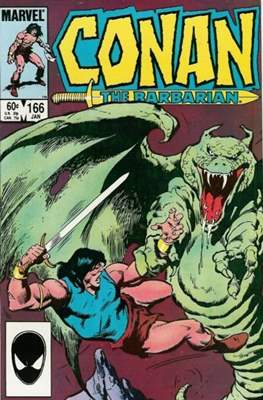 Conan The Barbarian (1970-1993) (Comic Book 32 pp) #166