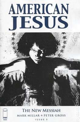 American Jesus: The New Messiah (Variant Cover) #3.1