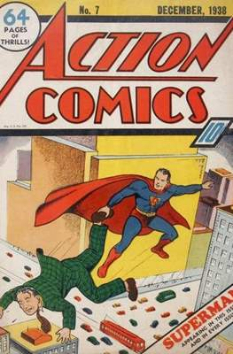 Action Comics Vol. 1 (1938-2011; 2016-) (Comic Book) #7