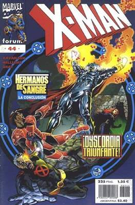 X-Man Vol. 2 (1996-2000) (Grapa 24 pp) #44