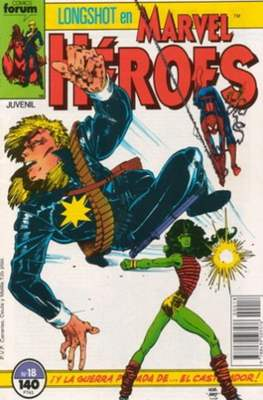 Marvel Héroes (1986-1993) (Grapa 32 pp) #18